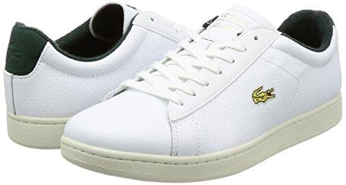 Lacoste Hommes Blanc Carnaby EVO 317 2 Basket Blanc