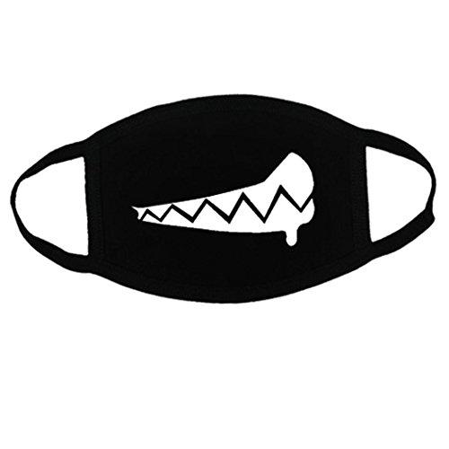 Zoylink Máscara La Boca Máscara Algodón Patrón