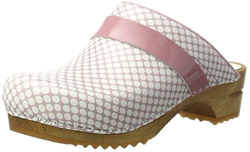 Sanita Damen Yasuko Open Clogs, Pink (Rose), 40 EU