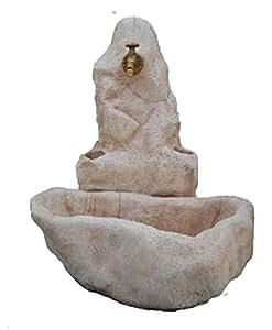 Fontane da Giardino in Cemento Fontana Petras - H cm 95 - Vivaio Santabernadetta