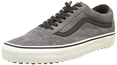 Vans U Old Skool Mte, Unisex Adults' Low-Top Sneakers, Grey (pewter/wool), 6.5 UK (40 EU)