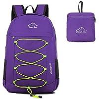 43dbf382a7103 Kukome(TM) 25 L Faltbare Ultraleicht Wasserdicht Outdoor Sporttasche Reisen  Klettern Wandern Radfahren Rucksack