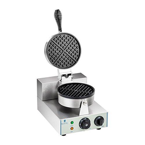 Royal Catering - RCWM-1300-R - Gofrera - 1 x 1.300 Watt - redonda - Envío Gratuito