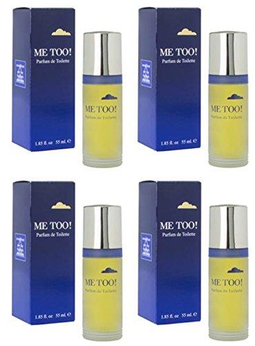 Milton Lloyd Me Too par lot de 4 flacons de parfum de toilette 55 ml/parfum