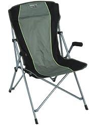 High Peak 44110 Chaise de camping Altea Vert olive/Gris foncé