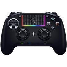 Razer Raiju Ultimate Controlador inalámbrico y con cable para juegos (con botones de acción táctiles Mecha, piezas reemplazables, panel de control rápido e iluminación Chroma RGB), Negro