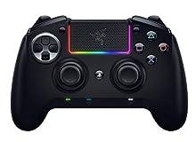 Razer Raiju Ultimate Edition (2019) - Controller da Gaming con o Senza Fili per PS4/PC, Pulsanti Azione Mecha-Tattili, Levette e D-Pad Intercambiabili, Configurazione con App Mobile, Nero