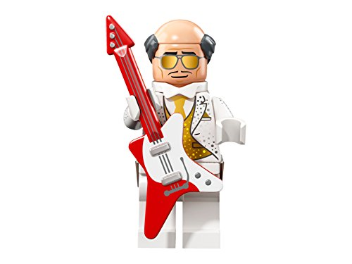 THE LEGO® Batman® MOVIE™ 71020 Minifgur Figur Disco Alfred Pennyworth mit 1x GALAXYARMS Saigabel und Katana in Gold (Disco Alfred Pennyworth - coltlbm2-02) (Alfred Batman Figur)