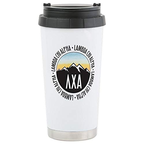 CafePress-Lambda Chi Alpha-Thermobecher Edelstahl, isoliert 16Oz Coffee Tumbler Alpha-tumbler