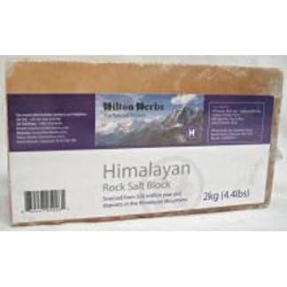 Hilton Herbs Ltd 039110 4.4Lb Himalayan Salt Block 7