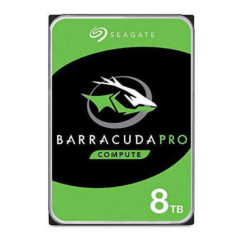 Seagate ST8000DMZ004/DM0004 BarraCuda Pro Interne Festplatte, 8,9 cm (3,5 Zoll), 8 TB, silberfarben -