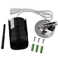 Funnyrunstore Profesional Million HD Plug 720P / 960P Cámara de Red Detección Alarma TF Tarjeta de Almacenamiento Cámara infrarroja de visión Nocturna (960P)