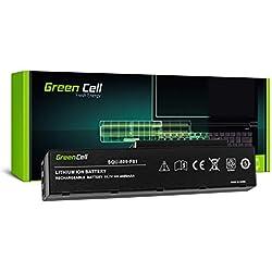 Green Cell® Standard Série SQU-809-F01 Batterie pour Fujitsu-Siemens Amilo Li3710 Li3910 Pi3560 Pi3660 Ordinateur PC Portable (6 Cellules 4400mAh 11.1V Noir)