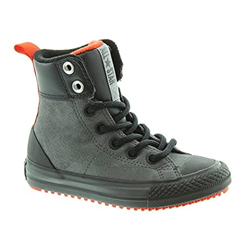 Converse - 654314c - Asphalt Boot Hi - Thunder/Signal - Red/Black (UK1)