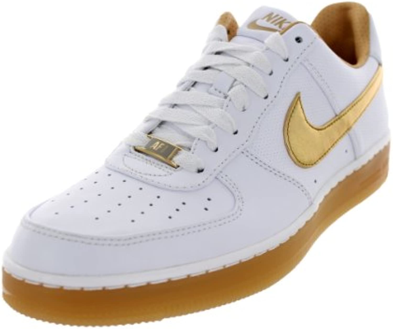 Nike Men's AF1 Downtown Prm bianca bianca bianca Metallic oro Basketball scarpe 13 Men US | Il Più Economico  | Scolaro/Signora Scarpa  c4c368