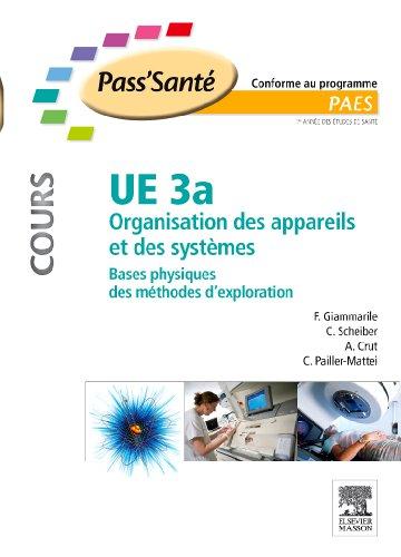 UE 3a - Organisation des appareils et des systèmes - COURS: Bases physiques des méthodes d'exploration