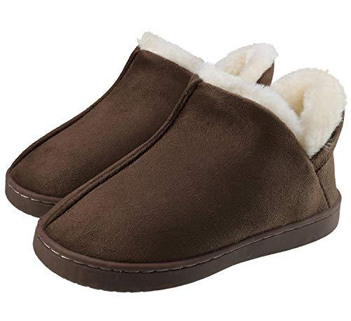 INMINPIN Baby Girls Boys Suede House Shoes Girls