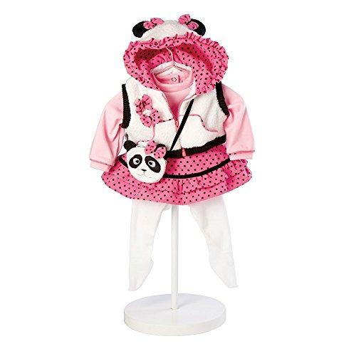 Adora 20920841 - Panda Fun Outfit, Puppenzubehör (Outfit Doll Adora)