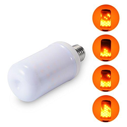 enemulation Licht Feuer Effekt Glühbirne Flimmern Beleuchtung für Weihnachten Halloween Urlaub Party Decor ()