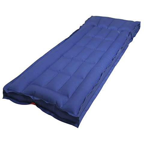 10T Ruby Single Box - Standard cotton air mattress in a box shape with a top, wafer structure, 190x64x19 cm