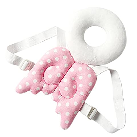 Baby-Kopf schützen Kissen,ANGTUO Kinderschutz Flügel-netter Baby-Kopf Cap Fallschutz Schutzpolster für