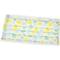 Einmalige Mundmaske Gelbes und grünes Sternmuster Set von 10 preisvergleich bei billige-tabletten.eu