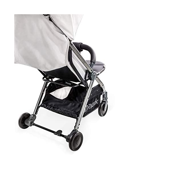 Hauck Swift Plus, Compact Pushchair with Lying Position, Extra Small Folding, One Hand Fold, Lightweight, Carrying Strap, from Birth Up To 15 kg, Lunar Hauck Our smallest comfort stroller Extra small and fast folding with one hand Extremely light - easy to carry over the shoulder 9