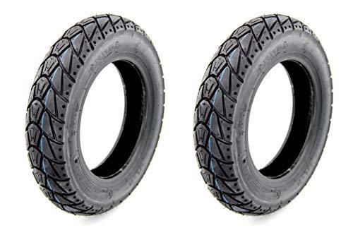 2 KENDA Winter Reifen 3,50-10 M+S - K415-56 - L - TL für Roller/Scooter