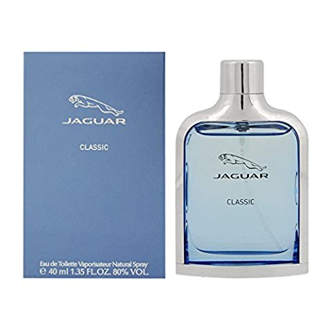 Jaguar Fragrances New Classic homme/men, Eau de Toilette Natural Spray, 40 ml (Weiß Ingwer Parfüm)
