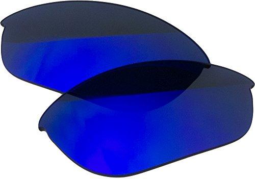 Zero Ersatz-Objektive für Oakley Half Jacket Sonnenbrille, Blue Mirror