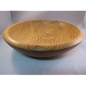 Schale aus Akazie Holz gedrechselt Unikat Handarbeit Edelholz