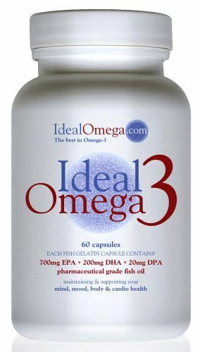 Ideal Omega3 Fish Oil (60 caps) by Ideal Omega