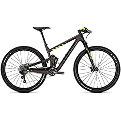 Focus MTB O1E Factory 12G - Bicicleta de montaña (29 Pulgadas), Color marrón y Amarillo Mate, Color Brown/yellowmatt, tamaño 48, tamaño de Rueda 29.00