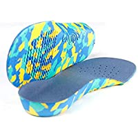 Children Arch Orthopädisch korrigierte Einlegesohlen Voller Länge Orthesen Schuheinlagen für flache Füße Schweißabsorbierende... preisvergleich bei billige-tabletten.eu