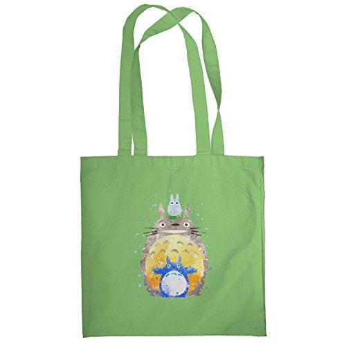 Texlab–Acquerello vicino–sacchetto di stoffa Verde chiaro
