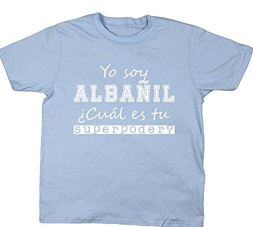 hippowarehouse-yo-soy-albanil-cual-es-tu-superpoder-camiseta-manga-corta-ninos-ninas-unisex