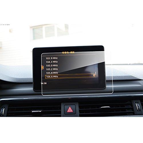 LFOTPP Audi A4 S4 A5 S5 7 Zoll Navigation Schutzfolie - 9H Kratzfest Anti-Fingerprint Panzerglas Displayschutzfolie GPS Navi Folie (S5-fingerprint Protector Screen)