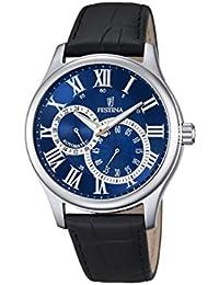 Festina Herren-Armbanduhr Analog Automatik Leder F6848/2