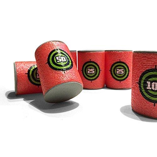 Arpoador News-more428 - Juego de 6 manillas de Goma EVA para Nerf N-Air, Serie Elite