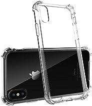 جراب iPhone XR ، جراب شفاف مضاد للخدش ماص للصدمات ممتص للصدمات متوافق مع iPhone XR