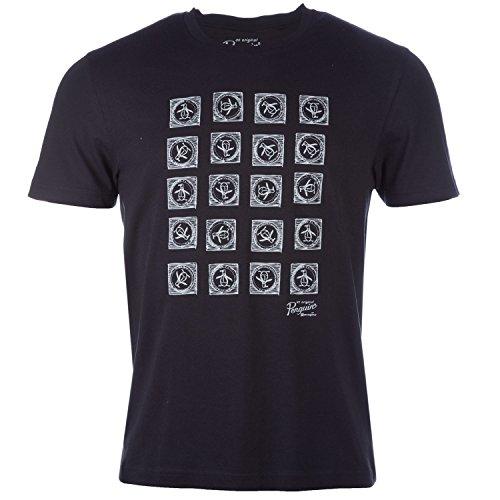 Original Penguin Herren T-Shirt Schwarz