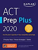 Best Act Preps - ACT Prep Plus 2020: 5 Practice Tests + Review