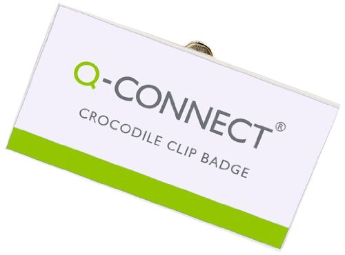 q-connect-40mm-x-75mm-crocodile-clip-badge-pack-of-25
