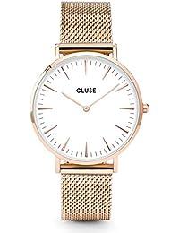 Cluse la Boheme Correa de Reloj Verde Oliva/Rose Gold cls035