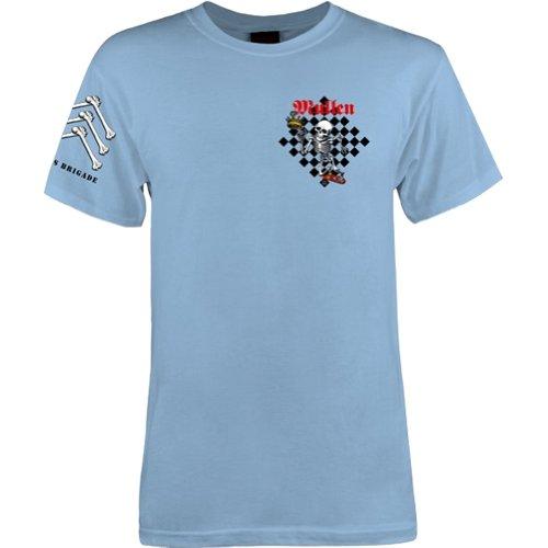 powell-peralta Rodney Mullen T-Shirt hellblau