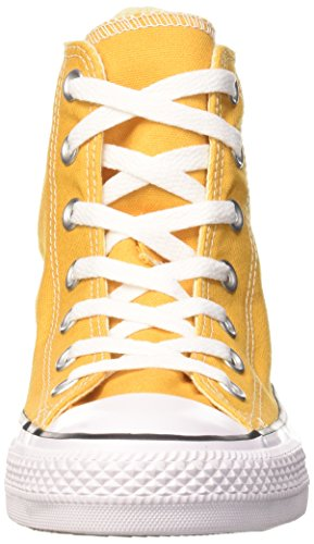 Converse Chuck Taylor All Star, Sneakers Mixte Adulte Jaune (Solar Orange/White/Black)
