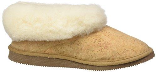 Pantofole Da Donna Stegmann 502 Marrone (sughero)