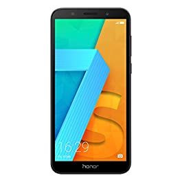 Honor 7S Dual SIM – 16 GB storage – UK Official Device – Black – 13 MP Camera and 5.45 Inch Full View Display