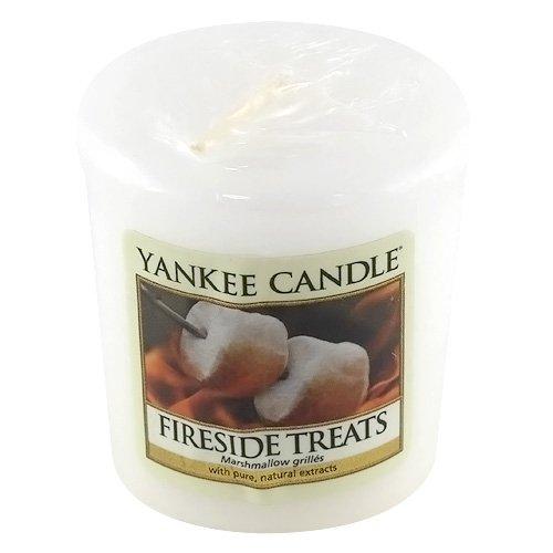 Yankee candle 1254093E Bougie votive senteur Marshmallows grillés 49 g Blanc
