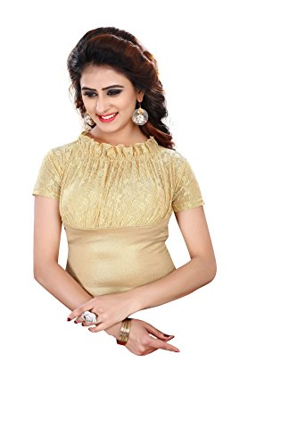 CDPL Express Shimmer Fully Stretchable Party Wear Free Size Readymade Blouse For...